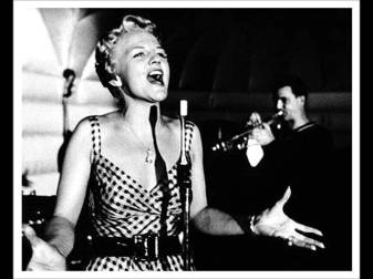 Peggy Lee singing