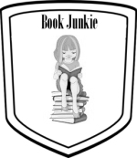 book junkie badge