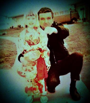 Little Kimono & Dad