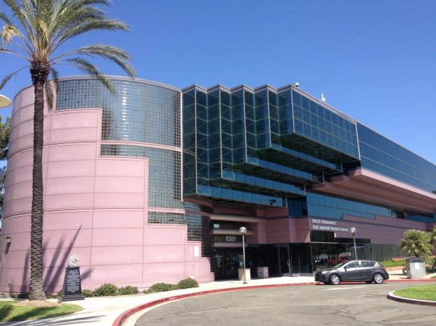 Exterior Facade - shares building with Anaheim PD