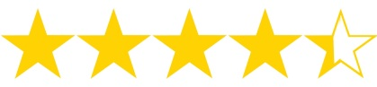 Image result for 4.25 stars